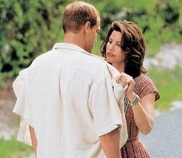 Willst du nicht wieder lieb sein? Woody Harrelson  und Gina Gershon