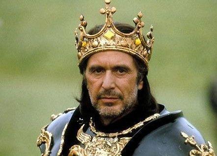 Regisseur Al Pacino als Richard III.