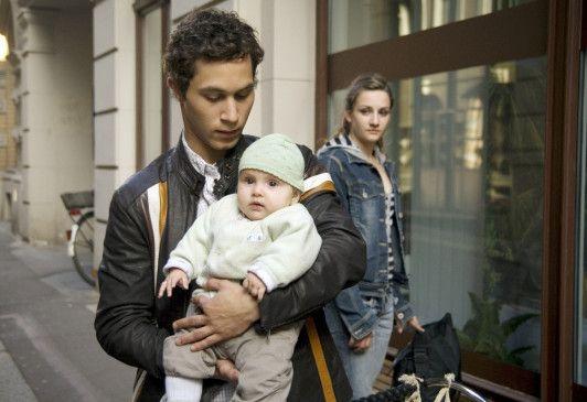 Eine kleine Familie: Ludwig Trepte, Tabea Fiebig, Karoline Teska