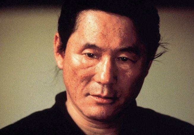 Takeshi Kitano in der Rolle des Elitetruppen-Anführers Hijikata