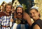 Freuen sich auf frische Römer: Franck Dubosc, Gérard Depardieu und Clovis Cornillac (v.l.)