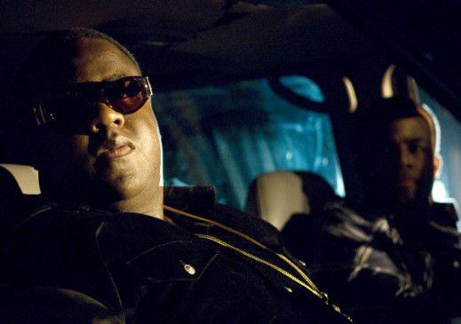 """Ich bin der beste Rapper aller Zeiten! Jamal Woolard (l.) als """"Biggie"""""""