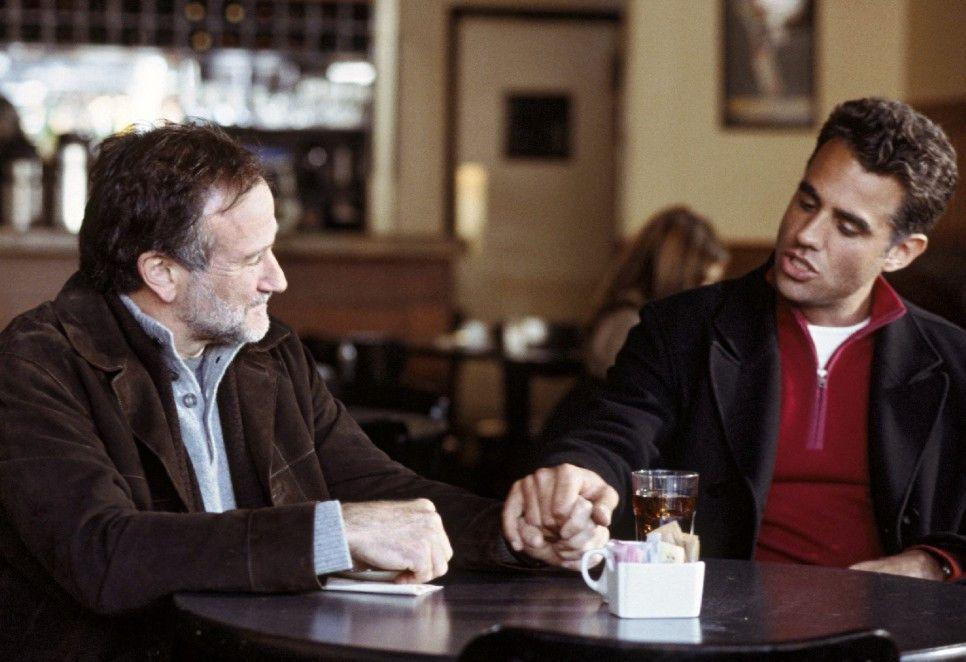 Jess (Bobby Cannavale) will sich von seinem Liebhaber Gabriel (Robin Williams, l.) trennen