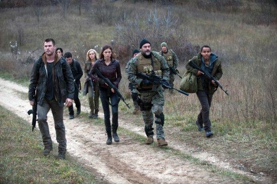 Auf in den Kampf! Die Jung-Soldaten finden in Jeffrey Dean Morgen Unterstützung