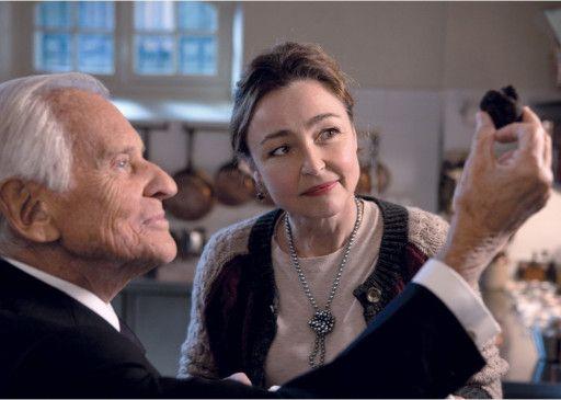Hortense Laboire (Catherine Frot, mit Arthur Dupont) kocht für den Präsidenten