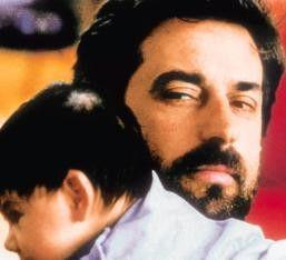 Endlich geschafft! Nanni Moretti mit seinem jungen Sohn