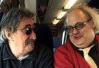 Auf Tournee: Jimmy Carl Black (l.) und Eugene Chadbourne