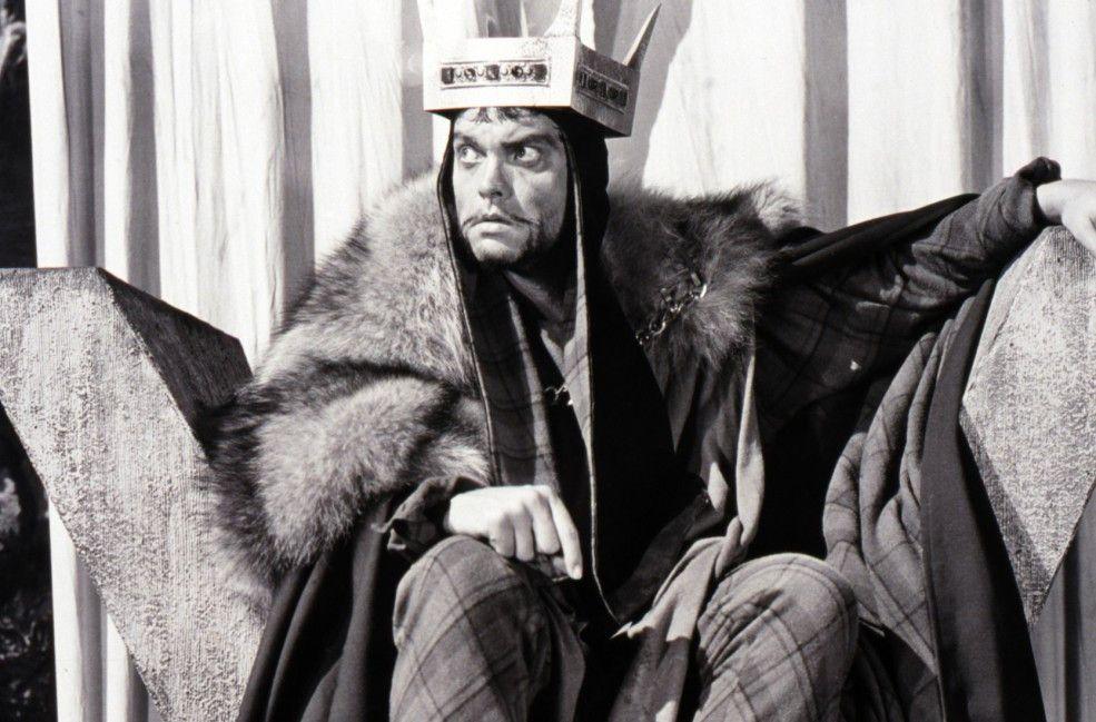 Will unbedingt die Macht erlangen: Macbeth (Orson Welles)
