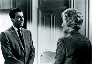 Ich werde dir helfen! Rod Taylor verspricht es Barbara Stanwyck