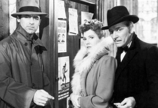Sie streiten für Gerechtigkeit: Cary Grant, Jean Arthur und Ronald Colman (v.l.)