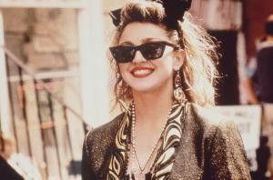 Ist das Leben nicht schön? Madonna als  Herumtreiberin Susan
