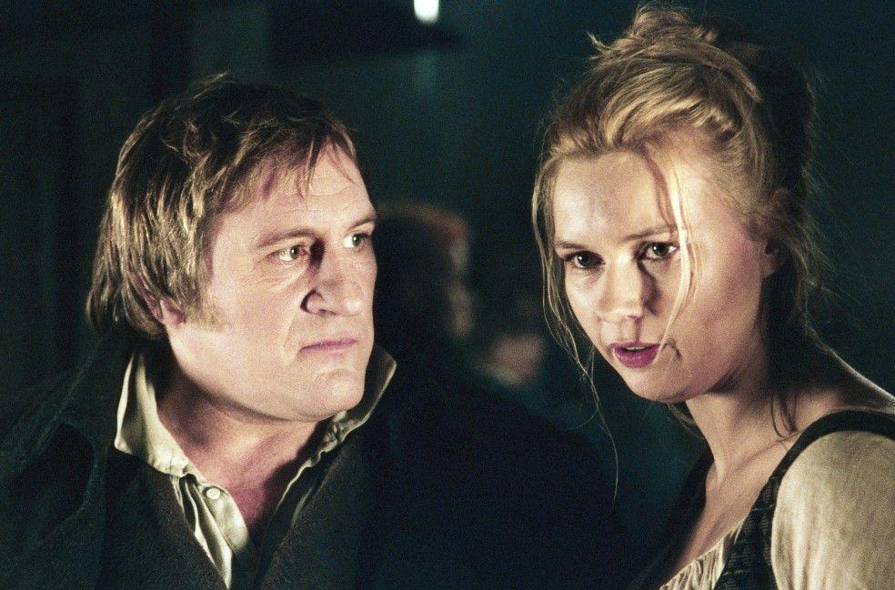 Wer ist denn die Blondine? Gérard Depardieu und Veronica Ferres