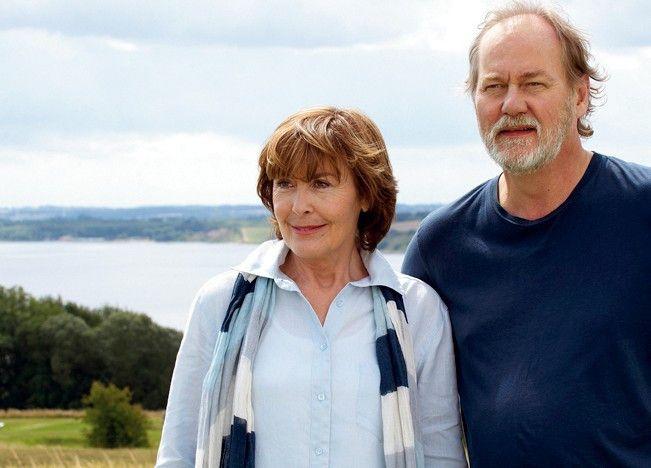 Ein netter Meeresbiologe! Thekla Carola Wied mit Peter Haber