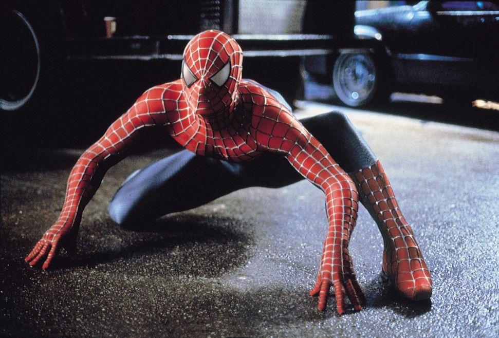 Was sehen meine vernetzten Augen da? Tobey Maguire als Spider-Man
