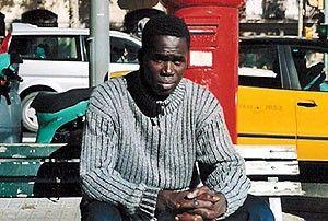 Oumar aus Guinea Bissau hat alles aufgegeben, um  nach Europa zu kommen