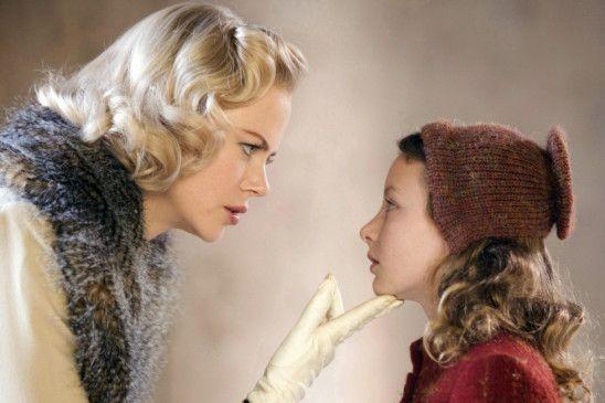 Eine wichtige Unterredung: Nicole Kidman und Dakota Blue Richards