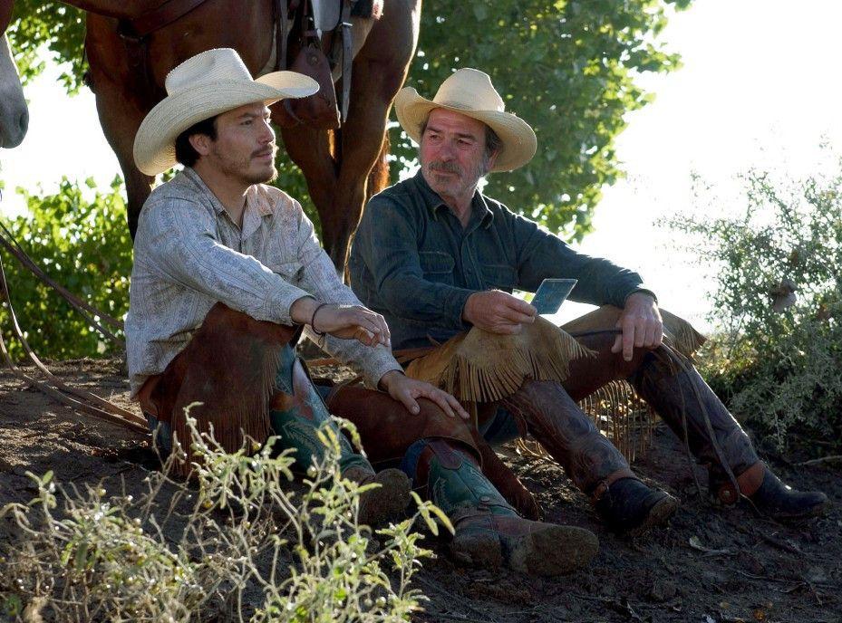 Wild-West-Romantik mit Tommy Lee Jones (r.) als Pete Perkins