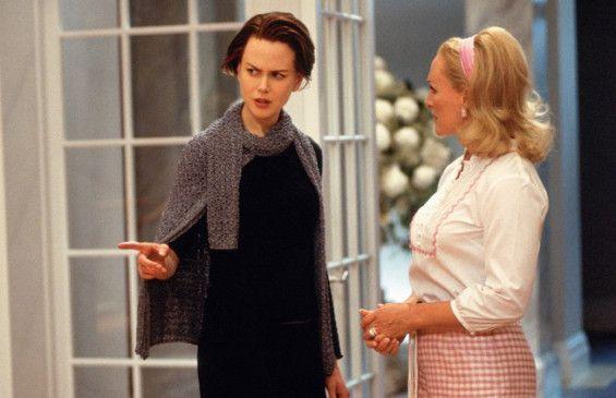 Hier stimmt doch was nicht! Nicole Kidman (l.) mit Glenn Close