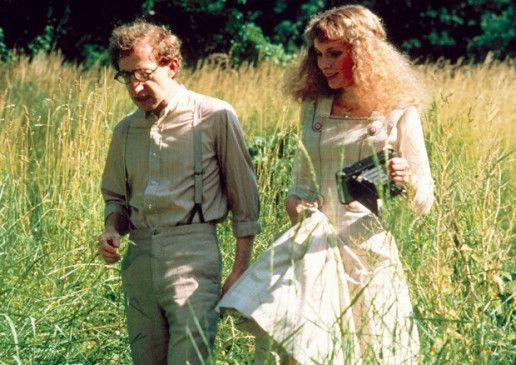 Frisch verliebt in der Natur: Woody Allen und Mia Farrow