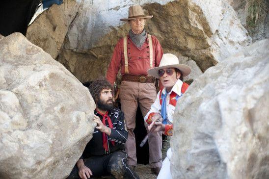 Abenteuer in Wildwest? Jason Schwartzman, Bill Murray und Charlie Sheen (v.l.)