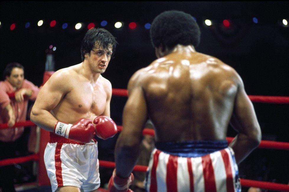Wer Champion werden will, muss einstecken: Sylvester Stallone als Rocky
