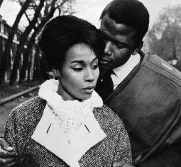 Eine Liebe in Paris: Sidney Poitier und Diahann Carroll