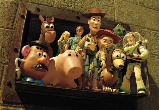 Schlechte Aussichten: Cowboy Woody und seine Kumpels drohen in den Müll zu wandern