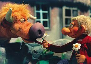Hallo, Bertha, du bist aber eine schöne Kuh!, findet Prop