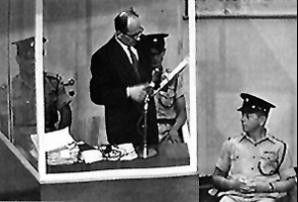 Wirkt wie ein harmloser Buchhalter: Massenmörder  Eichmann