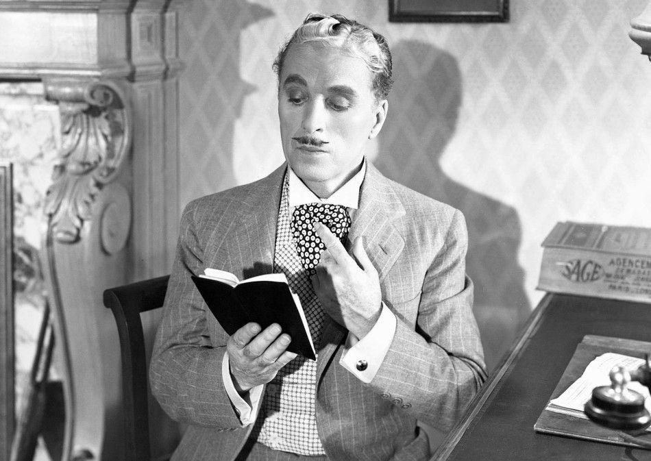 Die Schnecke ist auch tot! Charles Chaplin als  Monsieur Verdoux