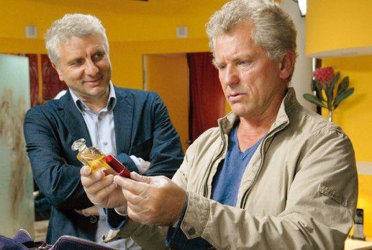 Schönheitspflege für den Herrn? Leitmayr (Udo Wachtveitl) und Batic (Miroslav Nemec, r.) ermitteln
