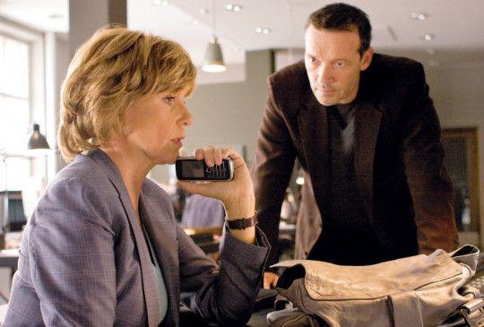 Ulrike Kriener (Foto mit Michael Roll) hat Angst um einen Kollegen