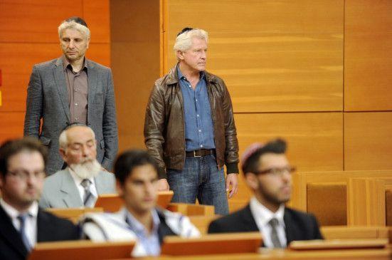 Leitmayr (Udo Wachtveitl, l.) und Batic (Miroslav Nemec) ermitteln in der neuen Synagoge