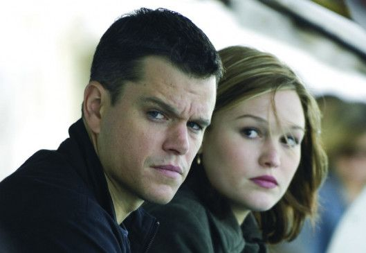 Immer schön unauffällig verhalten: Matt Damon und Julia Stiles