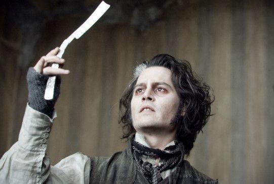 Das Messer gewetzt: Johnny Depp als Sweeney Todd