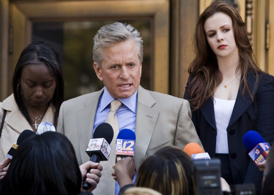 Gefragt: Michael Douglas als Staatsanwalt