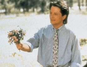 Ein Sträußchen in Ehren... Michael J. Fox will  Eindruck schinden
