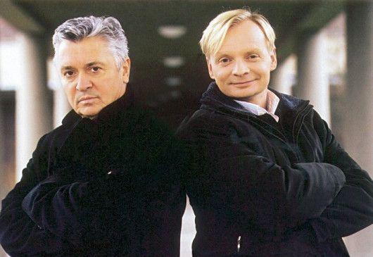 Henry Hübchen und Uwe Steimle (v.l.) scheint die Freizeit zu schmecken