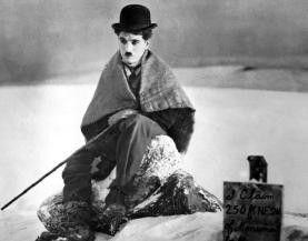 """Unvergessen: der ewige Tramp Charlie Chaplin, hier in """"Goldrausch"""""""