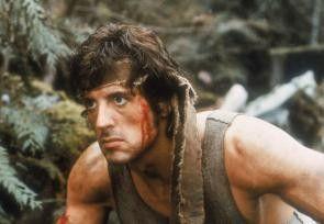 John Rambo (Sylvester Stallone) weiß sich seiner Haut zu wehren