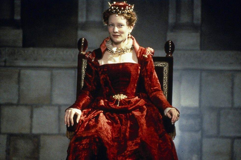 Das ist doch wohl ein schönes Kleid, oder? Cate  Blanchett als Elizabeth