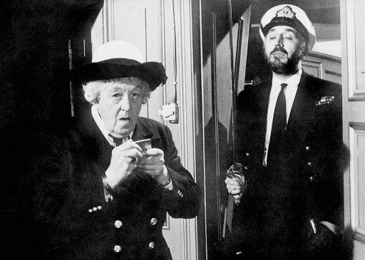 Er ist kein Mörder! Margaret Rutherford mit Lionel Jeffries