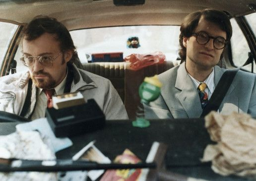 On the road again ... - Josef Hader (l.) und Alfred Dorfer