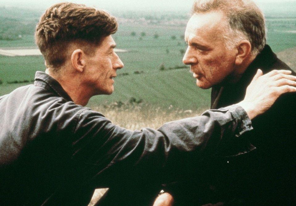Freund oder Feind? Richard Burton (r.) und John Hurt