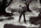 Der Wolfsmensch (Lon Chaney jr.) sucht sein nächstes Opfer
