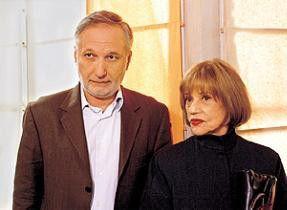 Was will der Junge denn? Jeanne Moreau und François Berléand