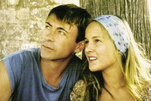 Das ist aber idyllisch hier! Marc (Didier Bienaimé)  und Martines Tochter Olivia
