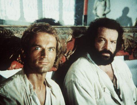 Sehen so gar nicht wie Missionare aus: Terence Hill (l.) und Bud Spencer