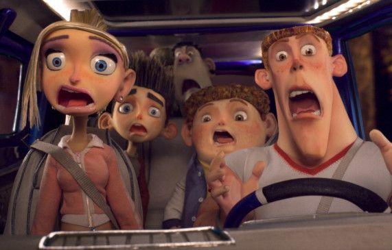 Die Zombies kommen - Norman und seine Familie sind entsetzt ...