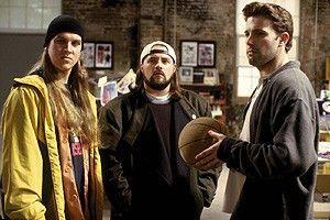Wir wollen nicht im Film veralbert werden! Jason Mewes, Kevin Smith, Ben Affleck (v.l.)